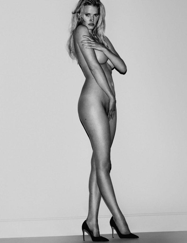 Lara Stone by Mario Testino