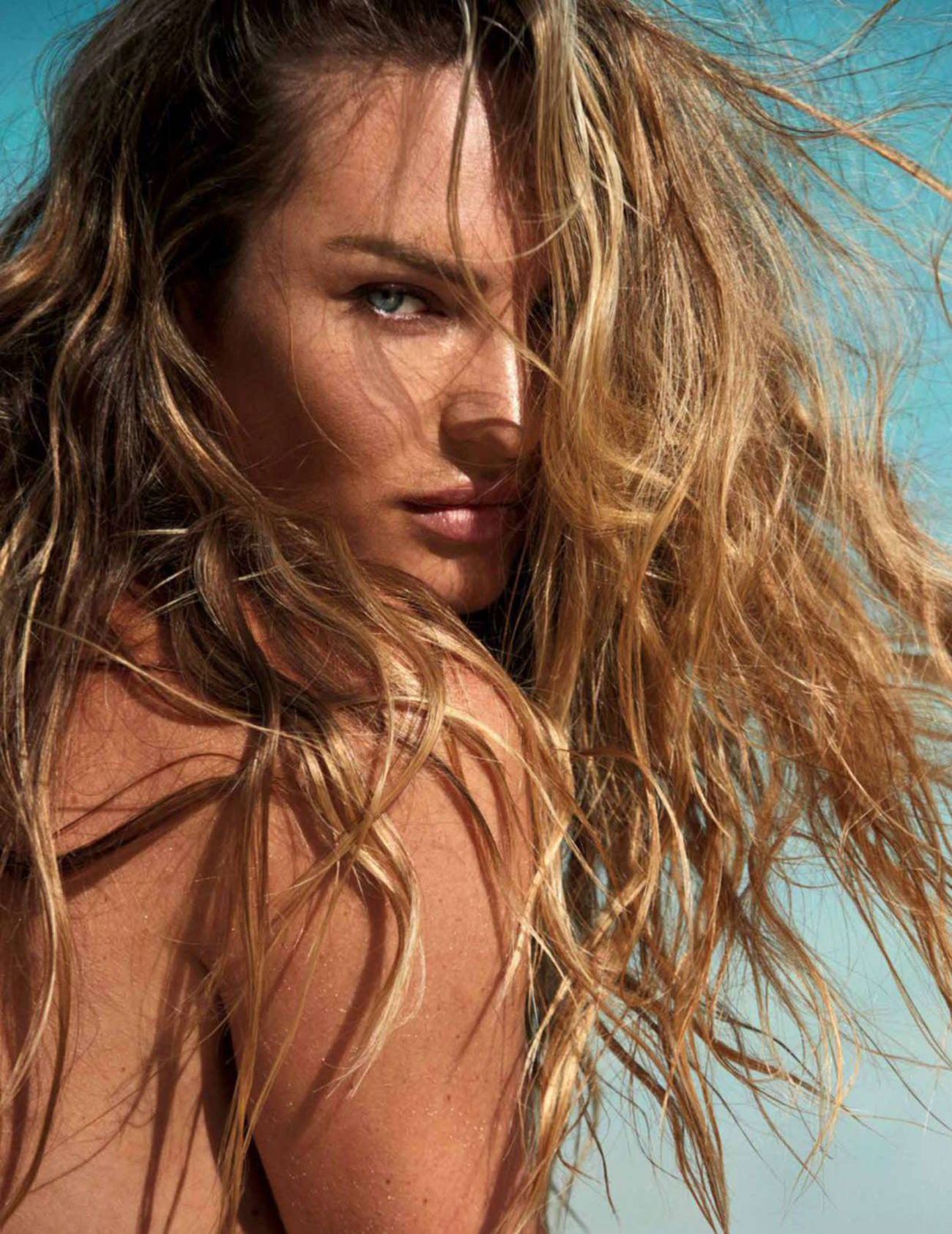 Candice Swanepoel by David Roemer